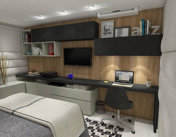 Móveis planejados em mdf para quarto