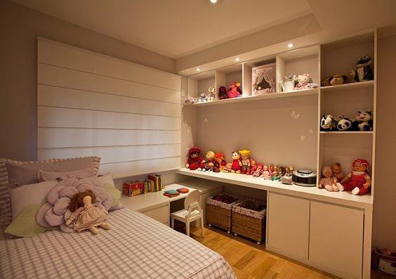Móveis planejados quarto infantil